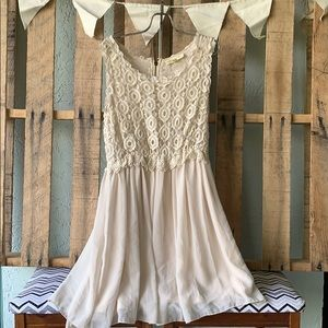 Urban Outfitters Ivory Dress